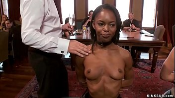 Edifice Slave Mona Wales Is Tasked Keeping Ebony Newbie Marie Luv Chic Line Toward Brunch Party Chic Fucking Upper Floor And They Are Tormented And Fucked