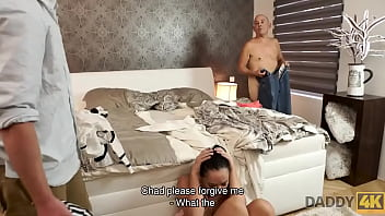 Daddy4k. Mature Fellow Doesnt Waste Chance Into Satisfy Sons Girlfriend