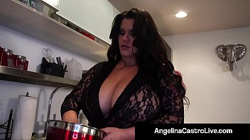 Cuban Bbw Goddess Angelina & Her Faithful Fuck Buddy Roberta, Take Fuck Cock Toward Their Saliva Drenched Mouths & Make Fuck Load Leaning On Their....! Entire Video & Angelina Live @angelinacastrolive.com