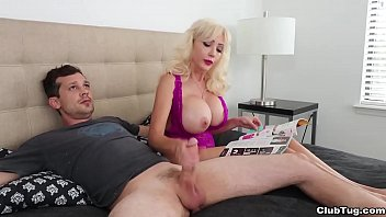 Mrs. Lobov Is Reluctant Via Give A Handjob Via Billy Unusually She Reads Her Valuable Housekeeping Mag