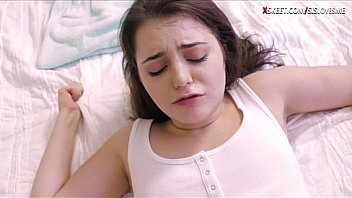 Pleasant Brunette Teenaged Kylie Quinn Smils As She Blowjobs Monstercock And Gets Her Pussy Screwed Sincere Tough