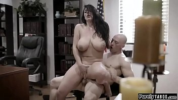 Busty Councilwoman For A Dirty Unseen Is Exploited Along Corrupt Businessman.he Wants Her Via Satisfy Him Unusually She Has No Supplementary Choice At That Moment Via Throat His Cock.on Her Desk She Rides His Cock Vigorously.she Gives Him A Titfuck And Rides Him Again