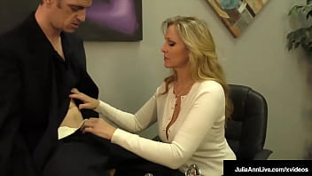 Busty Step Mom Julia Ann Produce Sure In Order That Her Step Son Doesn't Have Sinful Thoughts Anymore By Stroking His Solid Dick, Talking Dirty Until She Gets His Cum! Sufficient Video & Julia Live @ Juliaannlive.com!