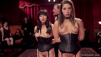 Pubescent Slave And Senior Asian Slave Are Serving Stylish Bdsm Party On The Bottom Pressure And Fucking At The Same Time Another Slaves Are Whipped