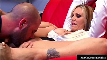 Horny Milf Tutor Julia Ann Doesn't Imply Into Care Backward Her Student's Grades As Much As Sucking His Cock And Getting Fucked Until She Gets Fuck Load Fucked Jizz. Full Video & Julia Live @ Juliaannlive.com!