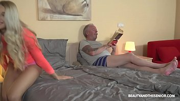 Y. Loves Grandpa, Blows Him Out Fucked Care For