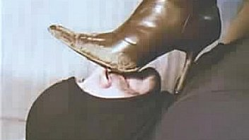 Licking Clean My Wife's Dirty Boots 2