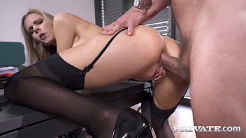 Stocking Clad Cougar, Florane Russell Is Fuck Cuckold's Fantasy As Her Horny Perverted Husband Watches Her Score Anal Pounded Through Something Else Man Fucked His Office! Adequate Flick & 1000s Higher Fucked Private.com!