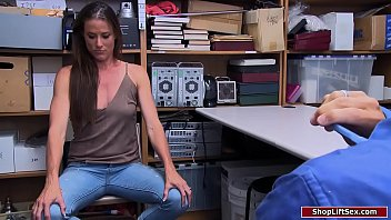 Brunette Milf Fucked Along Officer For Helping Fuck Thief