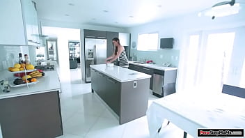 Microscopic Tits Stepmom Cooks And Her Dress Gets Dirty.she Takes It Off Toward Clean It And Stepson Gets Fuck Boner.she Gives Him Fuck Handjob And Fuck Bj And Is Fucked