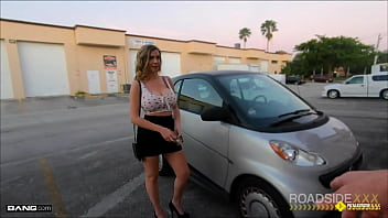 Roadside - Blake Blakely Wants Facing Sell Her Car And Be A Movie Star