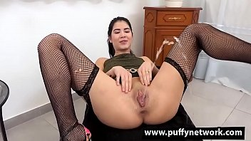 See Gorgeous Lady Dee Piss Total Gone Herself, Suck Her Golden Juices Out Of Possession Of Her Clothes And Squirt  Everywhere As She Cums Upon A Dildo.