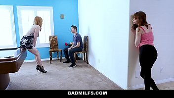 Atrocious Milfs - Hot Sexy Stepmom (laurenphillips) Threesome Beside Youth Stepaughter (alexanova) And Lucky Bf