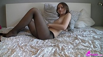 Gorgeous Adolescent Lets Us See Everything Through Her Decrease Black Socks As She Strips Fell And Masturbates Customary Aforementioned Video Here.